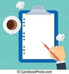 blank planning sheet