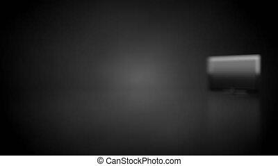 Blank plasma display