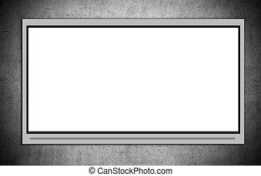 Blank Plasma TV