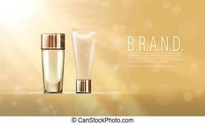 Blank Plastic Cosmetic Cream Tubes