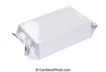 blank plastic pack
