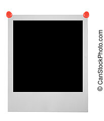 blank polaroid pinne
