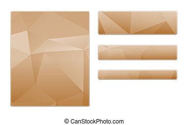 blank polygon pattern template