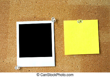 blank post-it.... - blank, empty, hollow, background,...