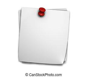 Blank Post It