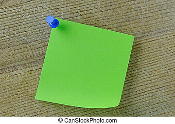Blank Post it Note