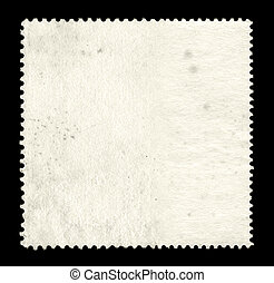 Blank postage stamp background