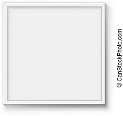 blank poster frame vector template wall picture white - White Poster Frame
