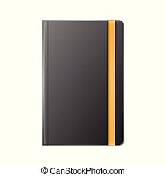 Blank Realistic template notebook