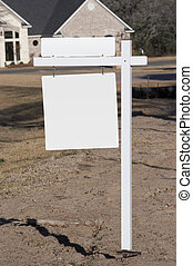 Blank Realty Sign