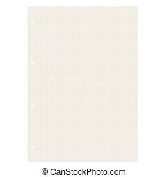 blank recycling paper checkered