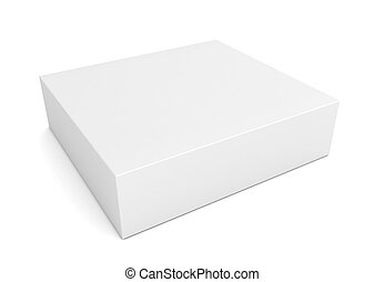 blank retail product box