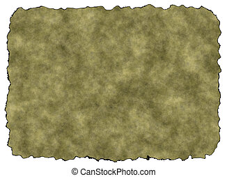 Blank Rusty Vintage Paper Texture with Clipping Path