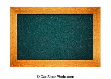 Blank school chalkboard