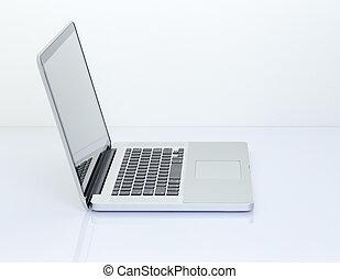 Blank screen Laptop computer