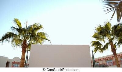 Blank screen on resort