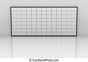 Blank screens