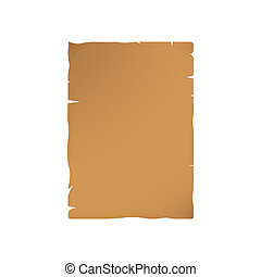 Blank sheet of old paper
