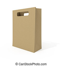Blank shopping bag