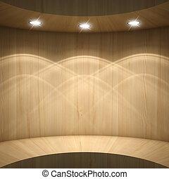 Blank showcase