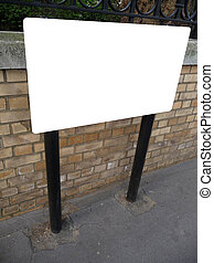 Blank Sign In London