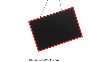 Blank sign isolated on white