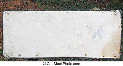 blank sign with copy space