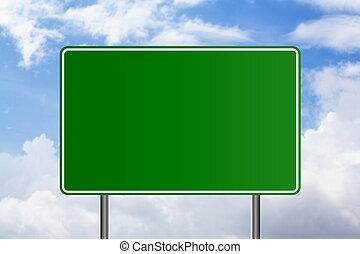 Blank Signboard