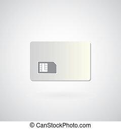 Blank sim card