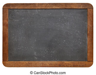 blank slate blackboard - blank vintage slate blackboard with...