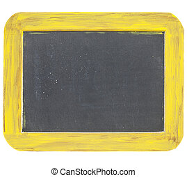 blank slate blackboard sign