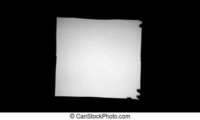 blank slides frames