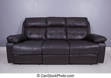 blank sofa in living room