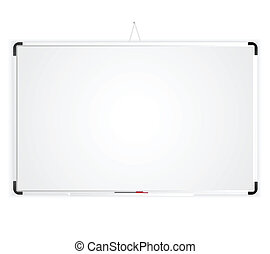 Blank Space Whiteboard graphic vector eps 10
