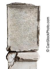 Blank stone in Coliseum - blank stone in Coliseum to put...