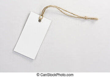 blank tag label
