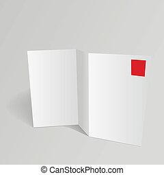 blank template vector