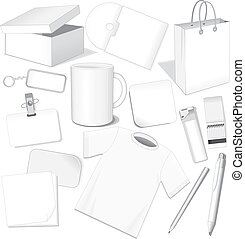 Blank Templates - Blank business templates: paper, card, ...