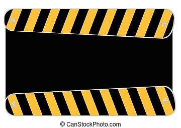Blank Traffic Sign