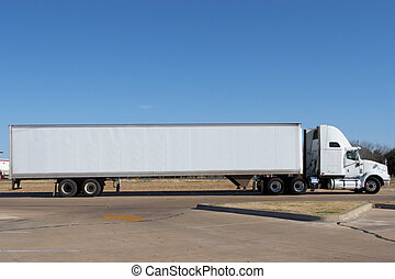 Blank Truck - Truck blanked out and ready for your logo