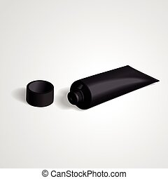 blank tube with cap