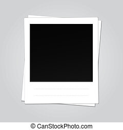 Blank Vector Photo Frame