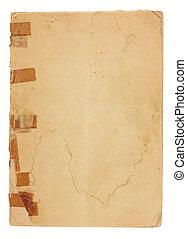 Blank Vintage booklet