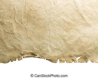 Blank vintage paper.