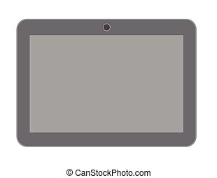 Blank Vintage Tablet Vector