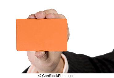 Blank Visit Card