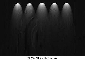 Blank Wall Dark Background