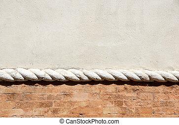 blank wall sidewalk background