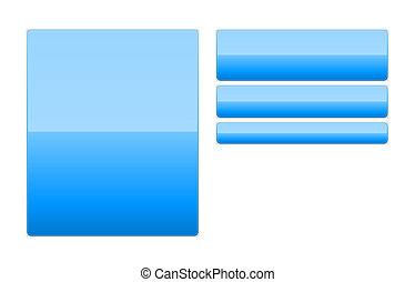 blank web button templates