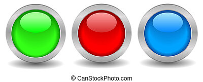 Blank web buttons